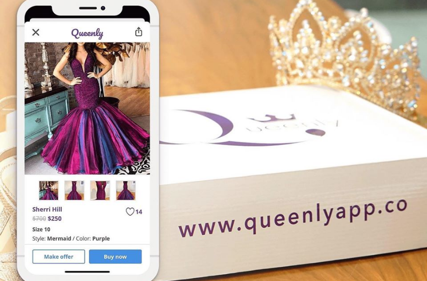 Queenly: Marketplace to buy and sell formal dresses